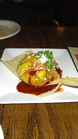La Merenda: Pork tamale