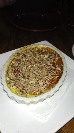 La Merenda: Walnut creme brulee