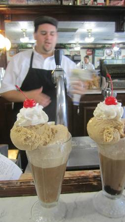 Soda Fountain of Venice: My Ice Cream Soda's  yummmmmmmmmmmmm