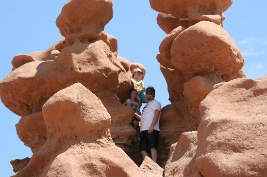 Rodeway Inn Capitol Reef: A shot from Goblin Valley State Park -- kids love it