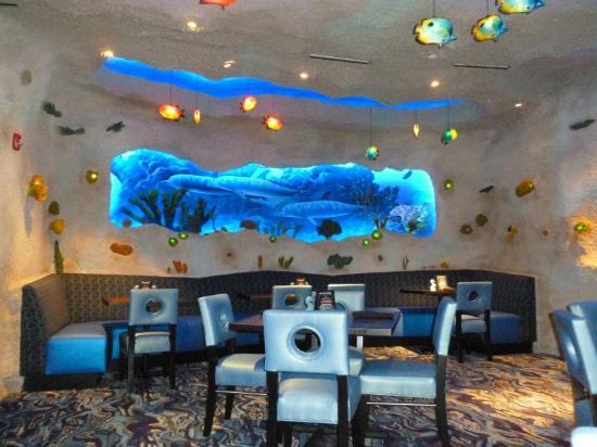 Inside The Restaurant Picture Of Aquarium Restaurant Nashville