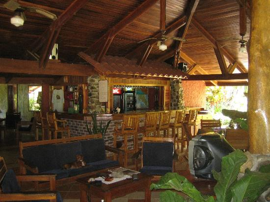 Playa San Miguel, Costa Rica: lounge area