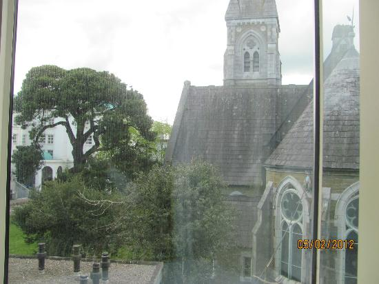 The Ross: View from window.