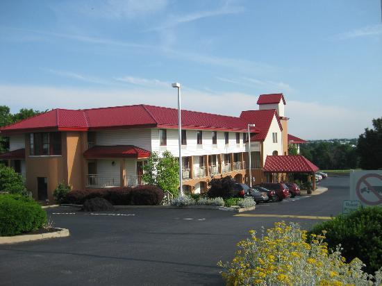 Lancaster Red Roof Inn: Hotel