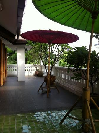 Baan Say La Guest House: my favorite balcony