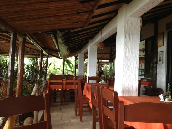 Bira Restaurante: parte do salão