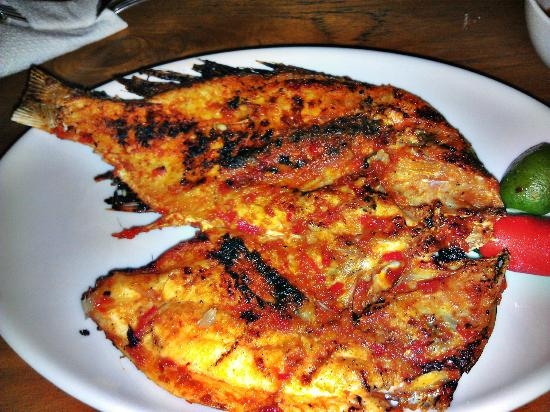 Warung Klumpu Bali: Grilled Fish