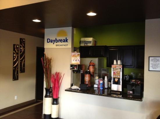 Days Inn El Paso West: Continental Breakfast