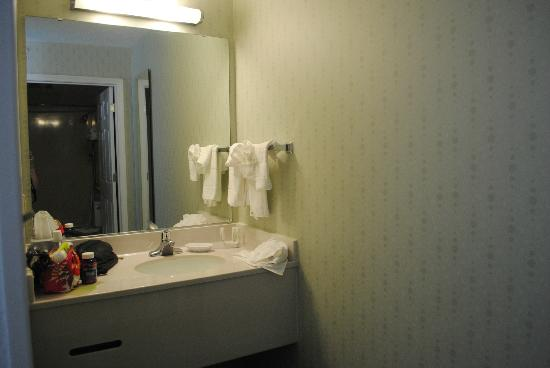 SpringHill Suites Atlanta Buford/Mall of Georgia : Bathroom sink/vanity
