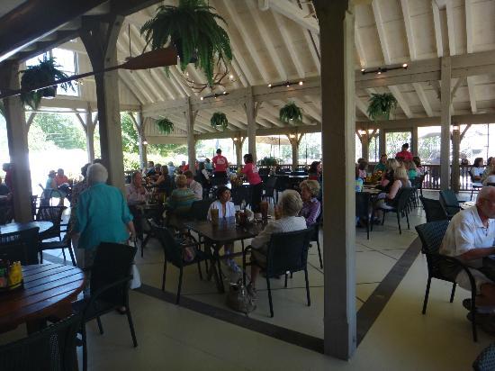 Cornucopia Restaurant: The porch