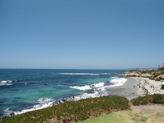 Scripps Inn: Wipe Out Beach, La Jolla