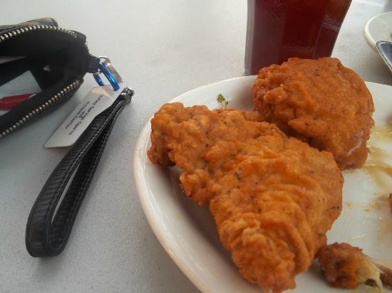 Homestead Steak House: Fried Chicken