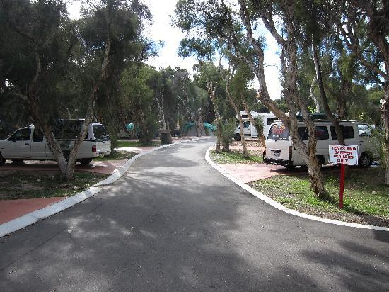 Karrinyup Waters Resort: Camping area
