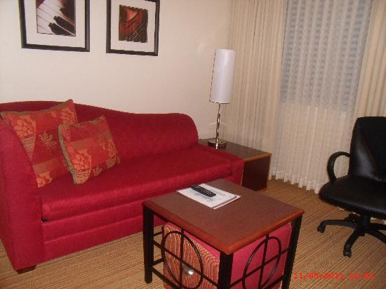 Residence Inn Atlanta Alpharetta/Windward: living room