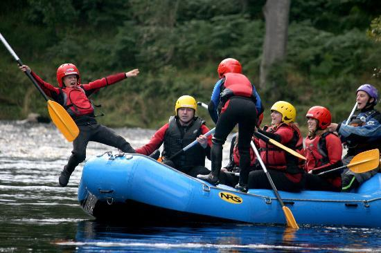 Family Rafting with Ace Adventure, Aviemore, Scotland