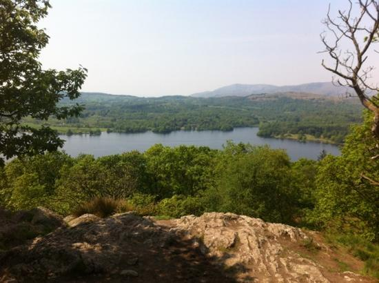 Jenkin Crag: the view