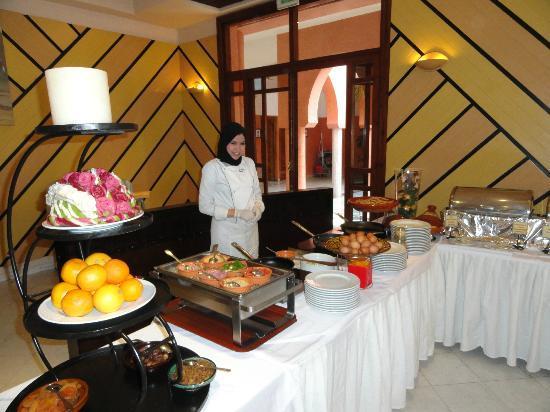 Atlantic Palace Agadir : internationaal buffet