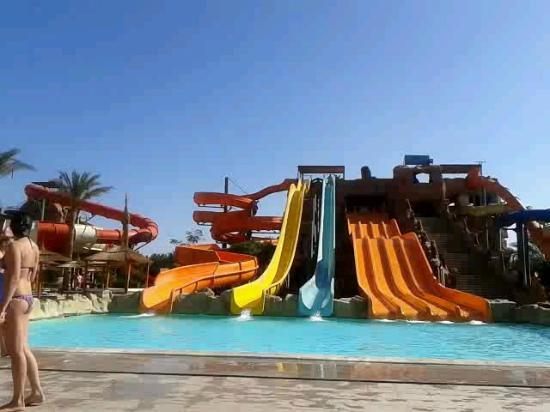Aqua Blu Sharm : Family slides