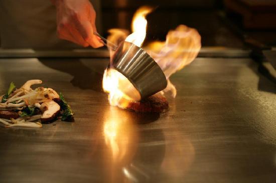 Teppanyaki Restaurant Sazanka : Wagyu Meat Sazanka