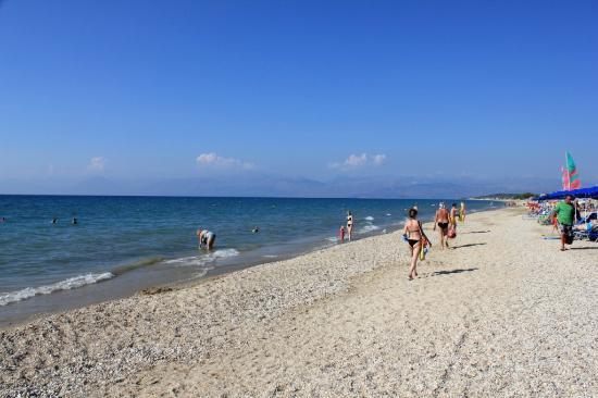 lti Gelina Village: Пляж днем