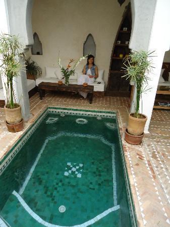 Riad Shambala: Relax en el patio interior