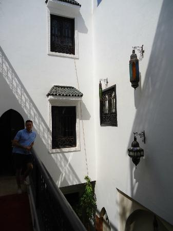 Riad Shambala: Vista exterior Habitaciones