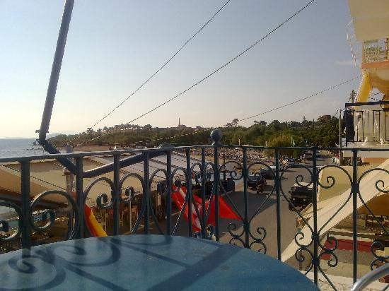 Areti Hotel - View from Balcony