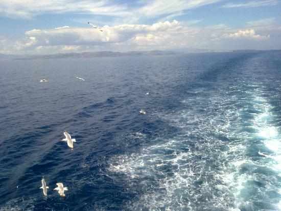 Areti Hotel - On the boat to Aegina