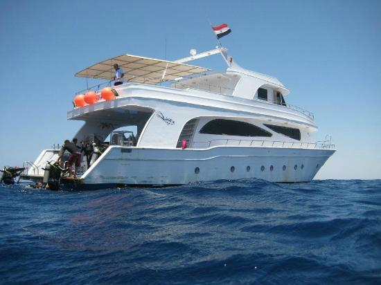 Shot of the live-aboard boat - Picture of Sea Dancer Dive