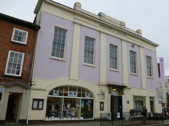Ludlow Museum: Frontage