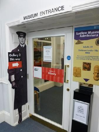 Ludlow Museum: Entrance