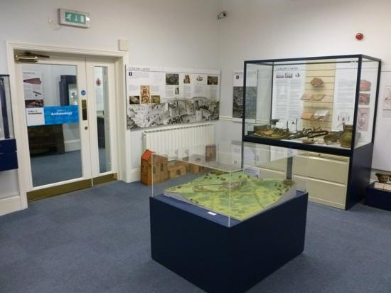 Ludlow Museum: Exhibition area
