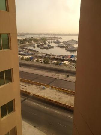 Days Hotel Manama: My restricted view.