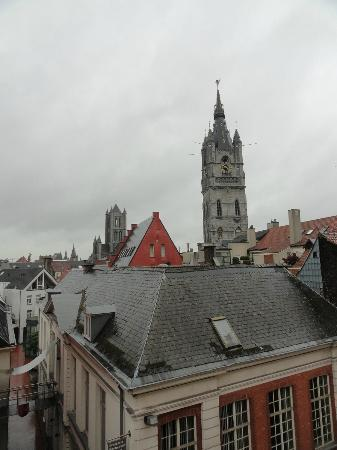 Ibis Gent Centrum St-Baafs Kathedraal: View from room 432