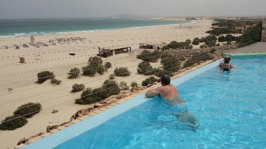 Iberostar Club Boa Vista: a vista da piscina