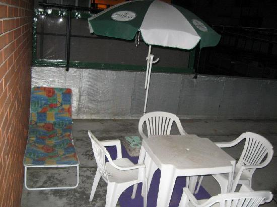 Pereira Hostel & Guesthouse: Apartment Terrace