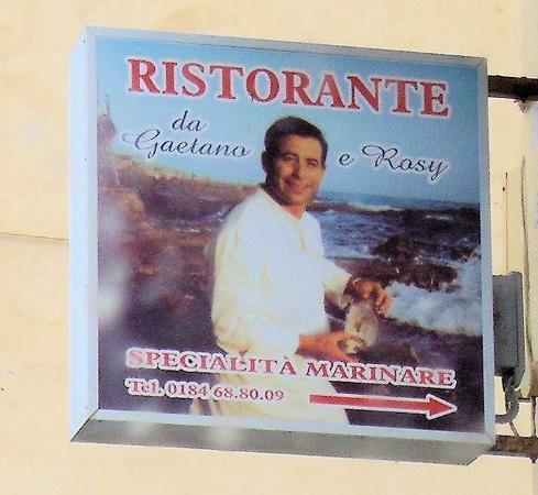 Da Gaetano e Rosy Gaetano: Ristorante