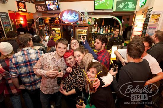 Belushi's: Berlin's International Bar.