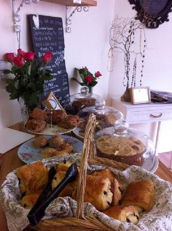 Millie and Me's selection of freshly baked Pies, cakes and pastries