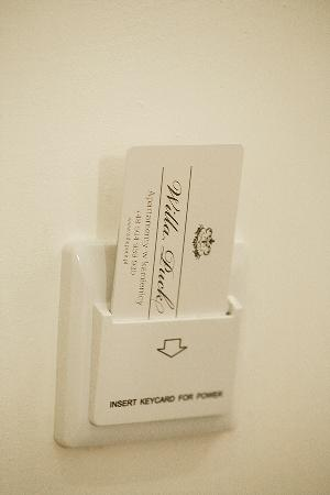 Willa Puck: Key card to the apartment