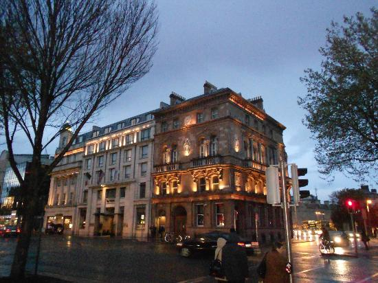 The Westin Dublin: View from outside the hotel