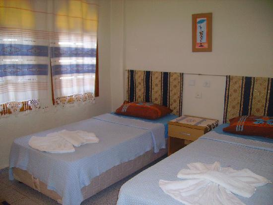 Mehtap Hotel Dalyan: a twin room in our hotel