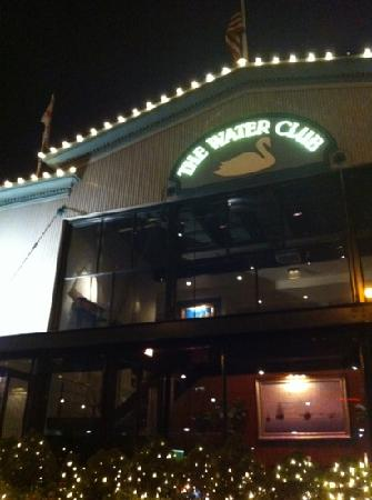 The Water Club : front of restaurant