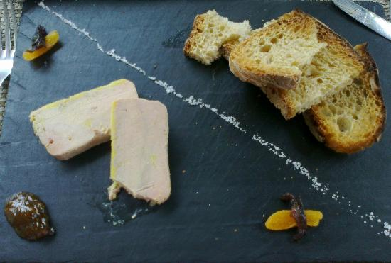 La Mule Blanche: Home Made Foie Gras Terrine