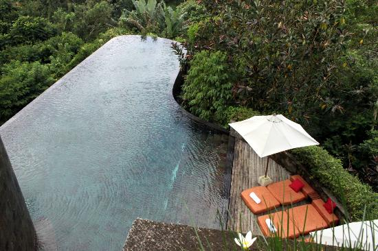 Hanging Gardens of Bali: Main Hotel Pool
