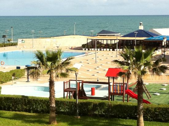 Sheraton Club des Pins Resort: Come back tomorrow - pool not open yet