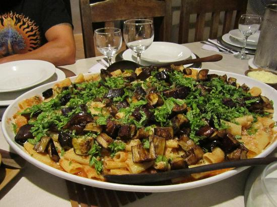 Posada La Movida: Pasta alla Norma