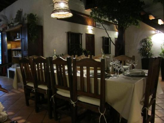 Posada Movida: Tavola per cena