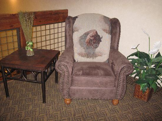 Holiday Inn Express Custer: Chair In Common Area