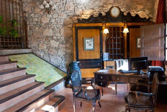 Hotel Rural Los Anades: Recepción